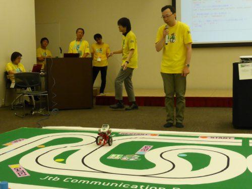 写真: 実践編 ロボットはどのようにして走らせている?の様子