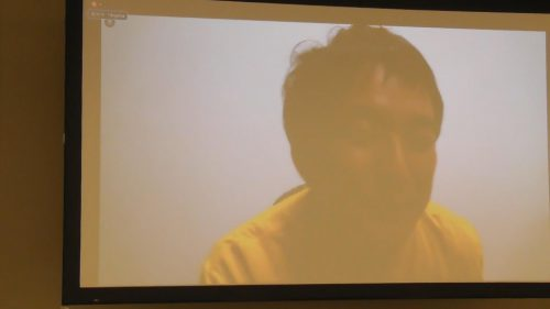 写真:セミナーセッション第五部のパネリストの小島氏